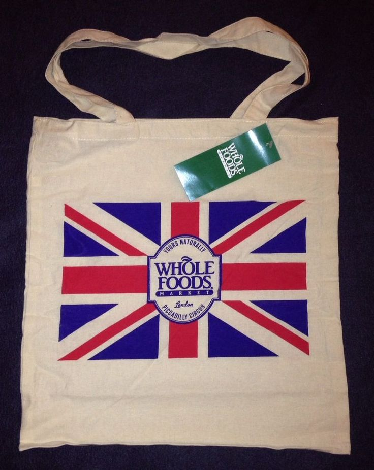 Whole Foods Jute Bag