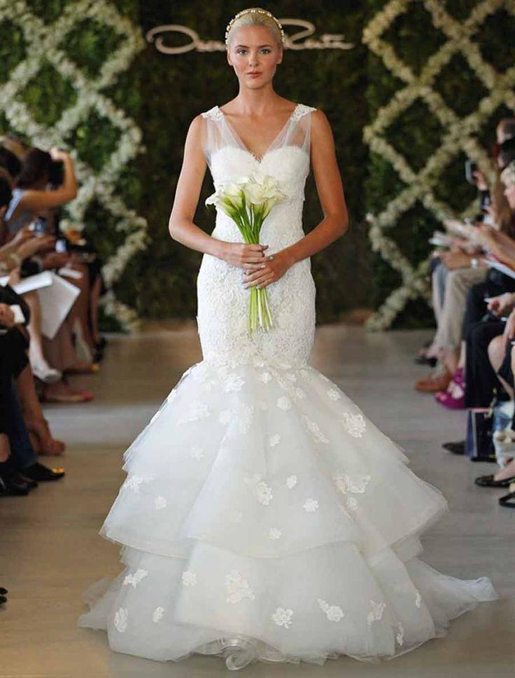 Oscar de la renta 44n44 discount designer wedding dress for De la renta wedding dresses