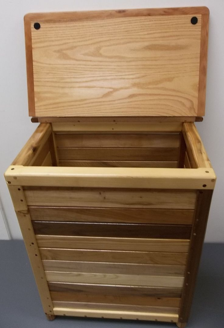best laundry images on pinterest  laundry room laundry  - nice wood laundry hamper with simple canadian baseball handcarved woodenlaundry design
