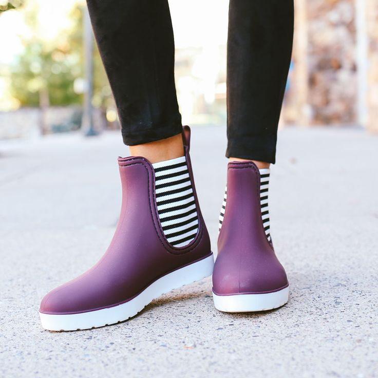 Orly Rain Boot - Bordeaux