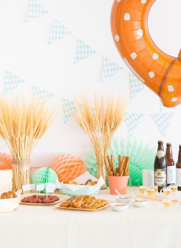 Mini Oktoberfest Party   Oh Happy Day!