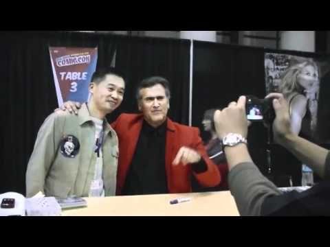 Dead Rising Onimusha and Mega Man Creator Keiji Inafune Meets Bruce Campbell https://www.youtube.com/watch?v=64eFO2UKkdQ