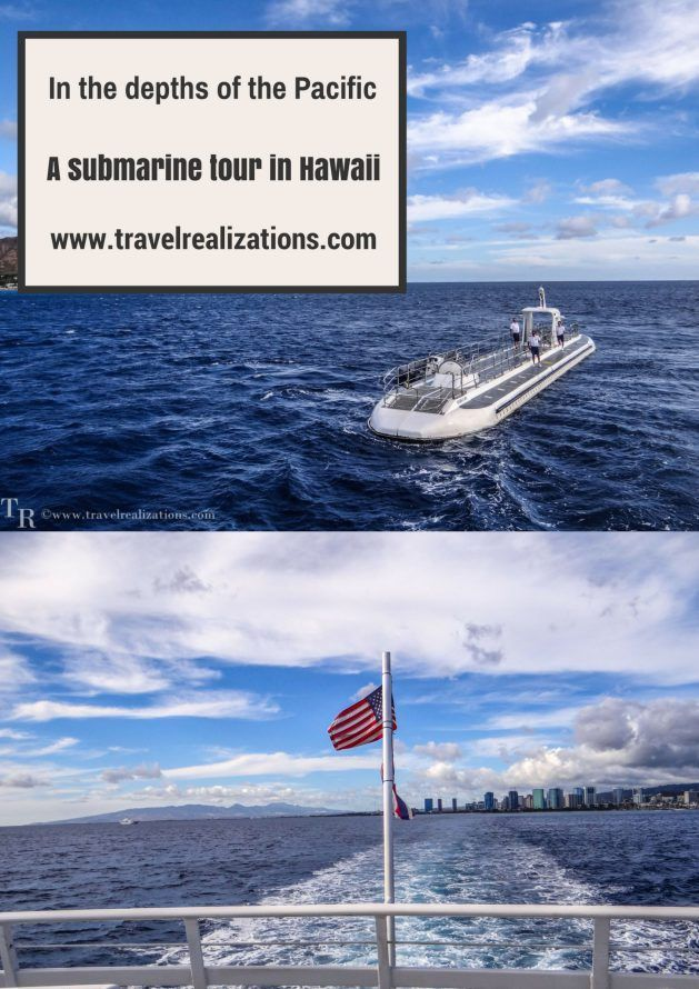 In the depths of the Pacific - A submarine tour in Hawaii