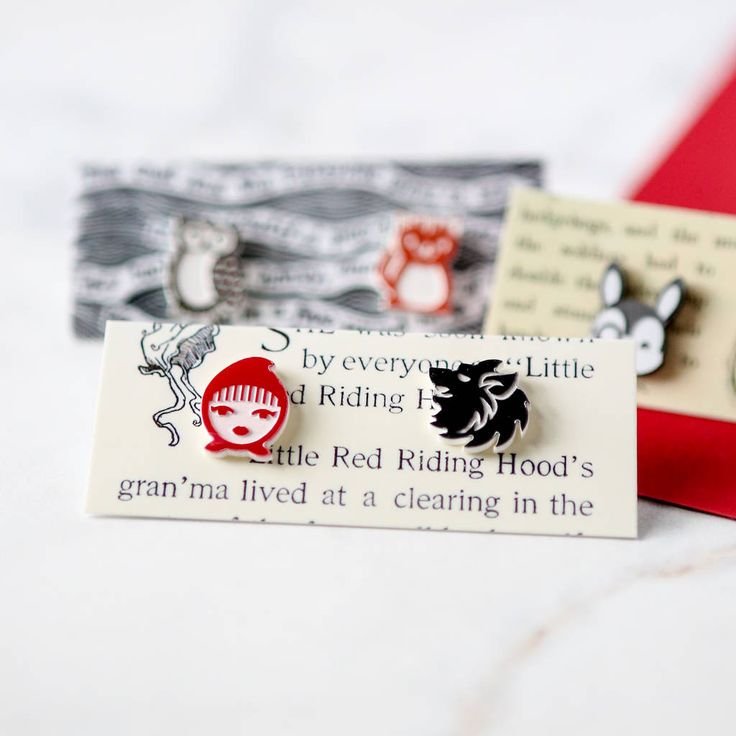 Are you interested in our Literary Acrylic Laser Cut Earrings? With our Stud Earring Pair Alice in Wonderland you need look no further.