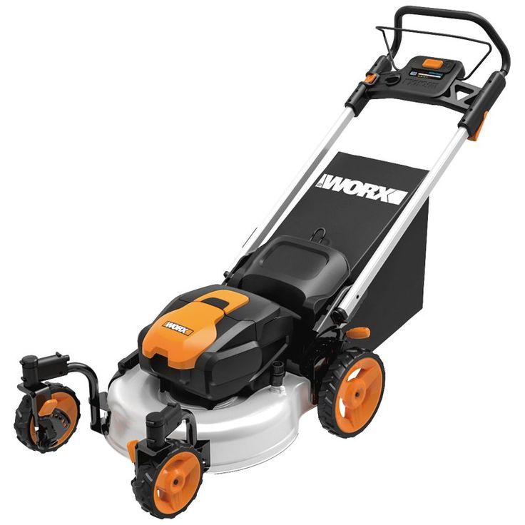 WORX 56V Lithium-Ion Cordless Lawn Mower