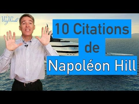 10 Citations Napoléon Hill