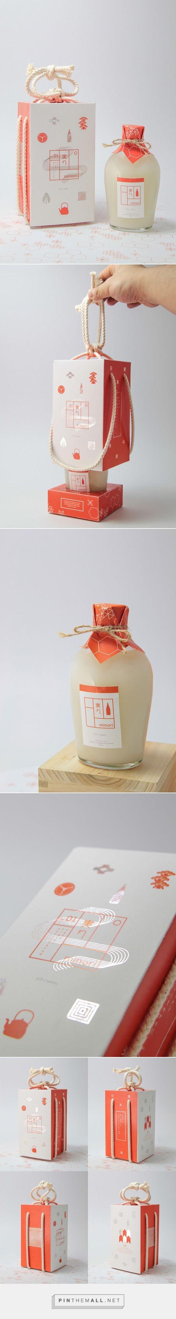 Japanese Minori Sake packagingArt and design inspiration from around the world –…