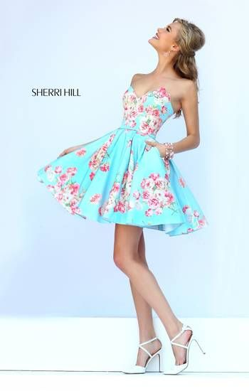love this spring 2015 dress by Sherri Hill