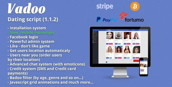 Vadoo - Social network dating script
