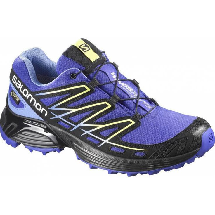Salomon Wings Flyte GTX W spectrum blue / petunia · Wrap ShoesTrail Running  ...