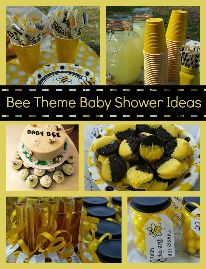 Get inspired for your DIY Baby Shower with these Bee Theme Baby Shower Ideas!