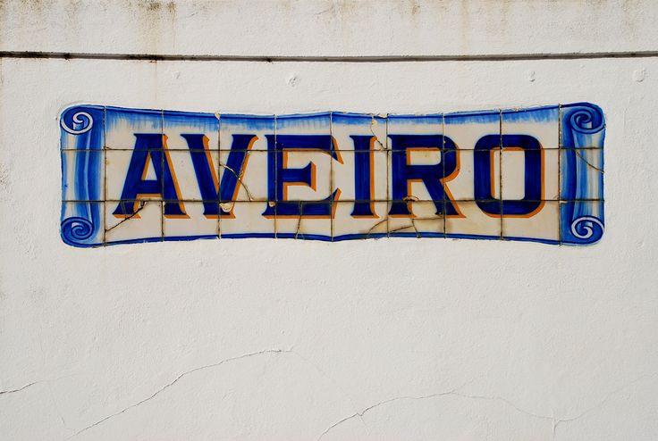 Azulejos, tiles. In the town of Aveiro, station