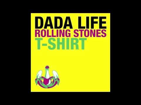 Dada Life- Rolling Stones T-Shirt. Electronic summer please.