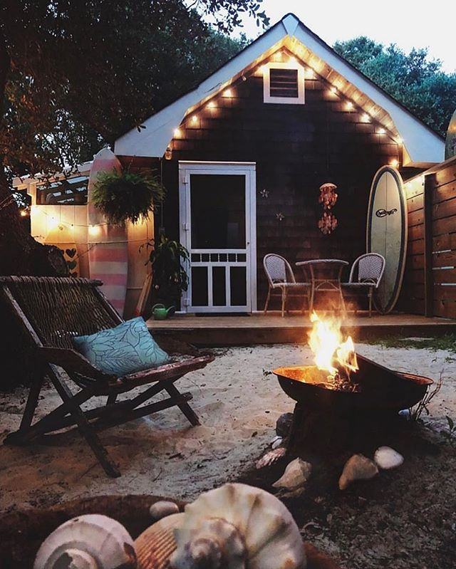 Tiny Surf Shack Cozy Cabin On The Outer Banks Of Nc Outerbanks Northcarolina Thanks For Tagging Us Tinysurfshack Checkout Surf Shack Cozy Cabin Airbnb