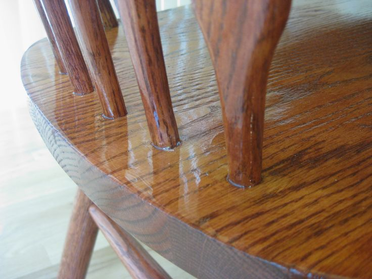 Refinished Shin Lee Oak 5 Piece Dining Set With Leaf. American White Oak  Extending Dining Room Table With Chars. It Has Been Newly Re Finished And  Stained ... Part 77