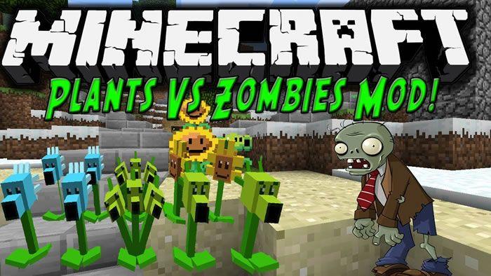 Plants vs Zombies Mod – es un mod para Minecraft, creado sobre la base del famoso juego de computadora para dispositivos móviles