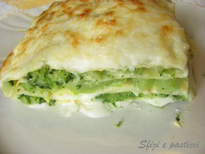 Sfizi e pasticci: Lasagne con broccoli e pecorino