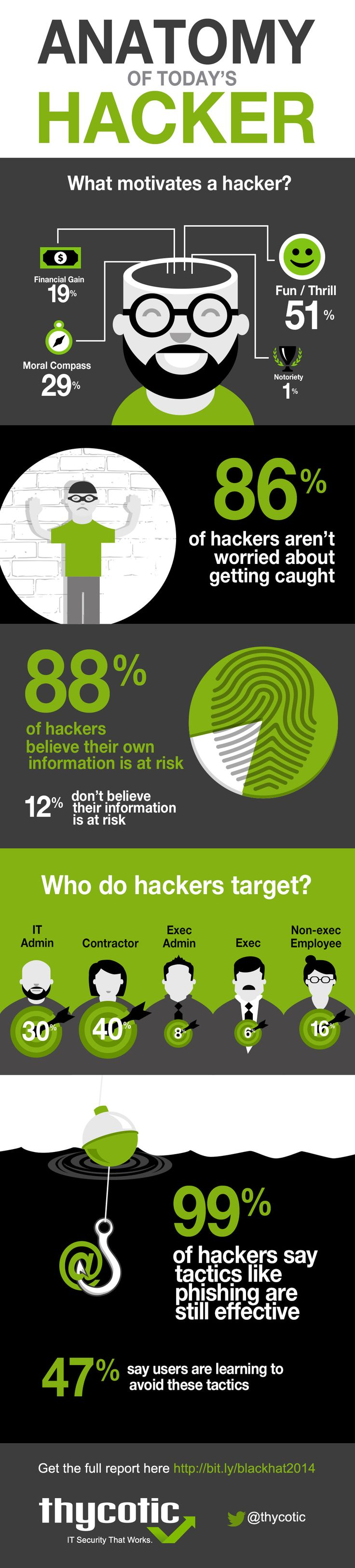 Anatomy Of Today's Hacker #Infographic #Hacking