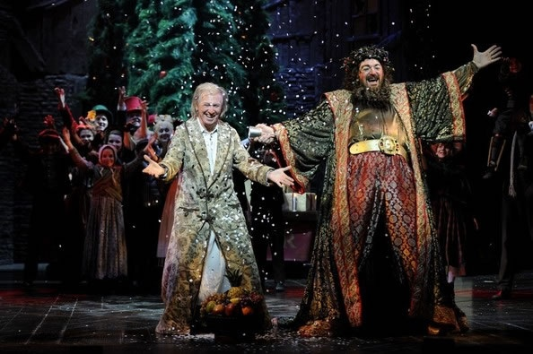 Scrooge the musical at the London Palladium (November 2012 - January 2013) BT: love the costume