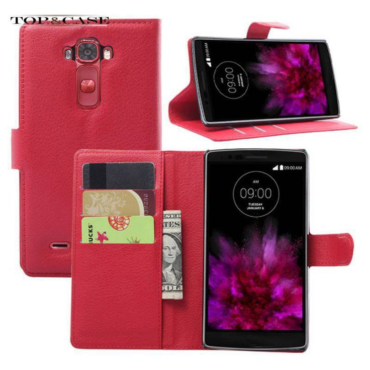 >> Click to Buy << TUKE Hot Mobile Phone Bag Cover Case with Card holder Leather Wallet Style Stand Case For LG G flex 2 Multicolor SJ3118 #Affiliate