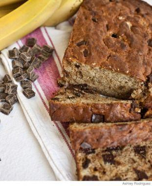On-the-Go Breakfast Recipe: Chocolate Chip Banana Bread
