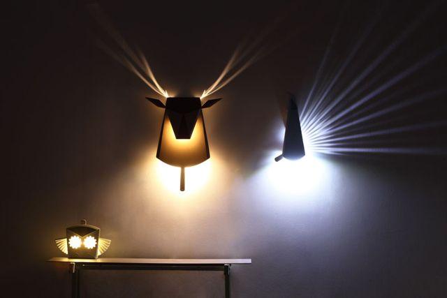 この発想はなかった・・・飛び出す絵本仕掛けのライトに癒される。   DDN JAPAN