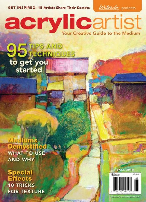 Acrylic Artist A Creative Guide To The Medium Digital Edition