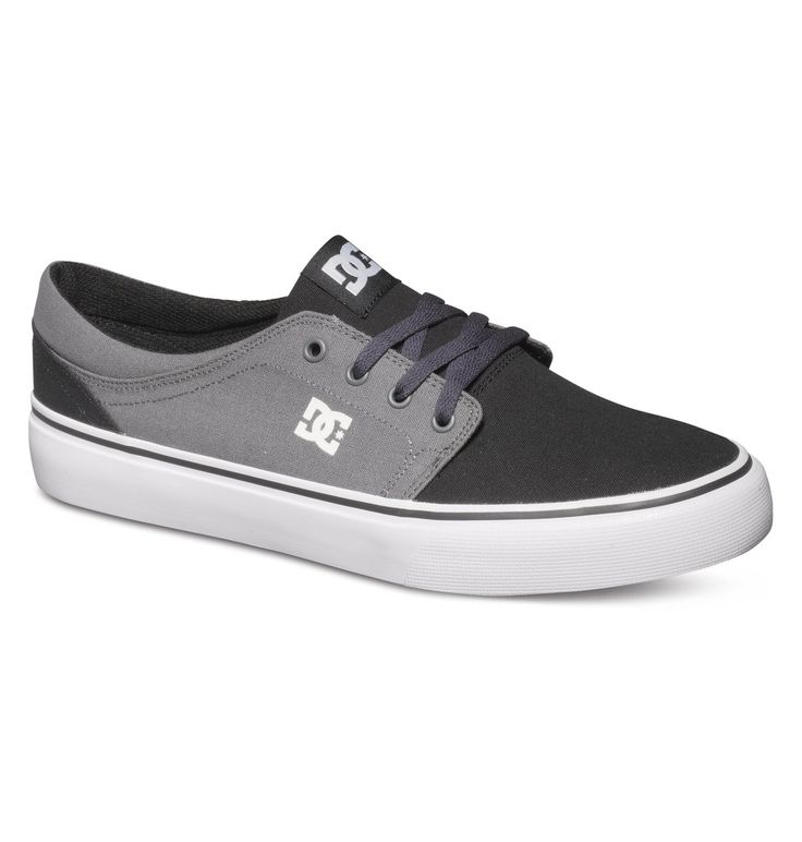 dcshoes, Men's Trase TX Low Top Shoes, BLACK/DK SHADOW (bdh)
