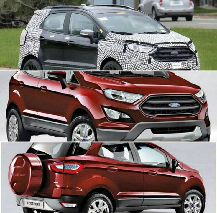 Refreshed #Ford #EcoSport to be unveiled soon.