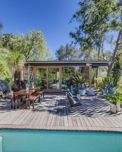 California Small Houses With Pools: 25+ Best Ideas About California Bungalow On Pinterest