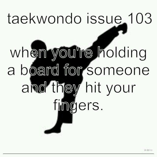 not JUST a taekwondo issue.