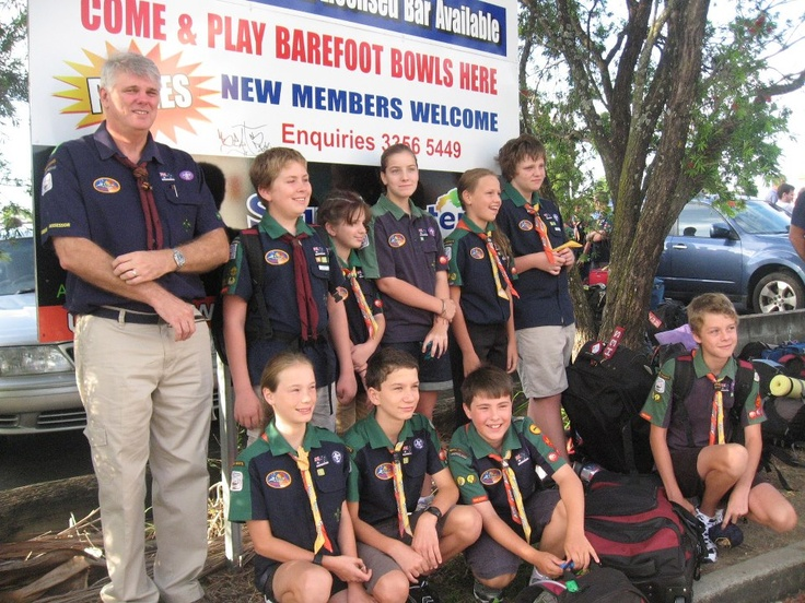 Wavell Heights Scouts, Brisbane... Have a great time!