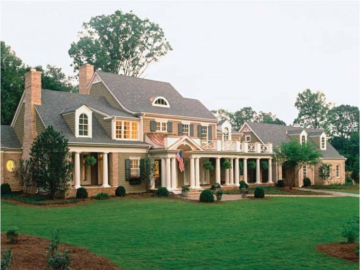 51 best beautiful houses images on pinterest dream for Southern charm house plans