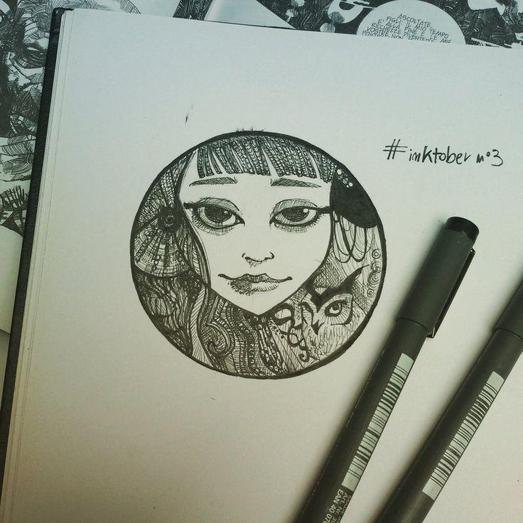 inktober n3 by MademoiselleWillow