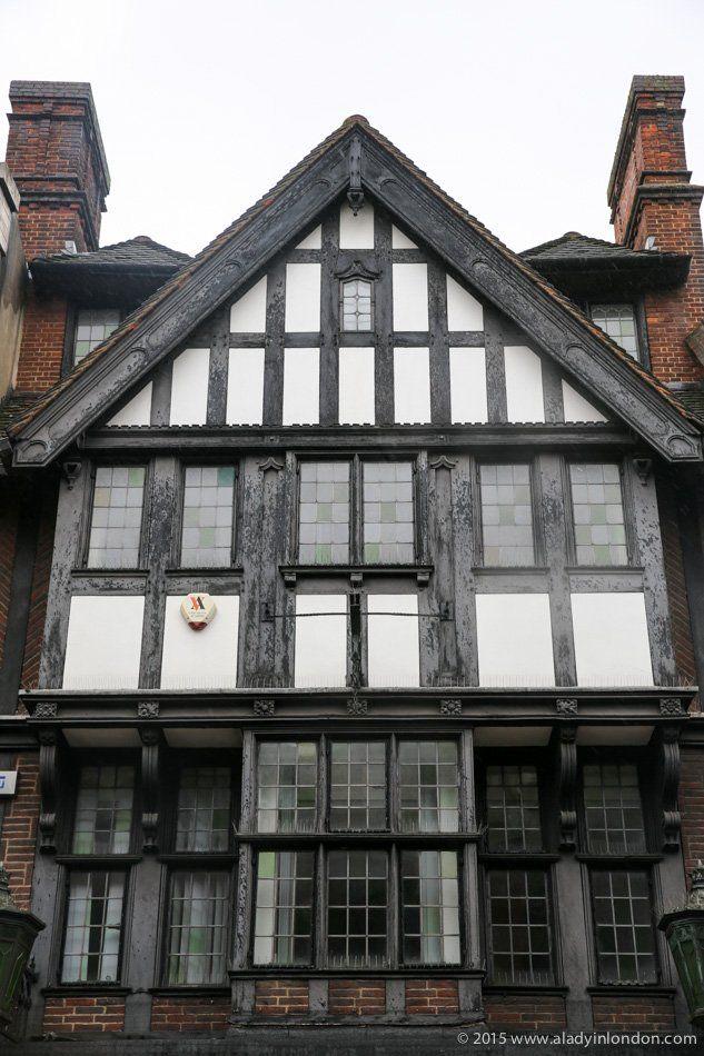 Mock Tudor Building in Kingston upon Thames