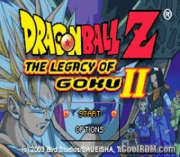 Dragon Ball Z - The Legacy of Goku 2 ROM Download for Gameboy Advance / GBA - CoolROM.com