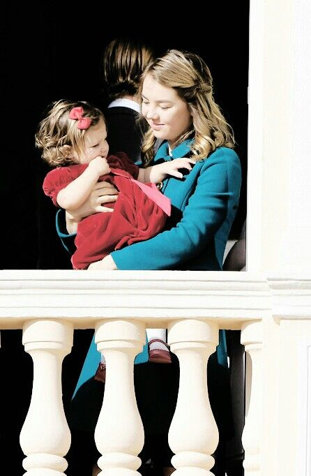 Princess Alexandra whit her niece India daughter of Andrea Casiraghi