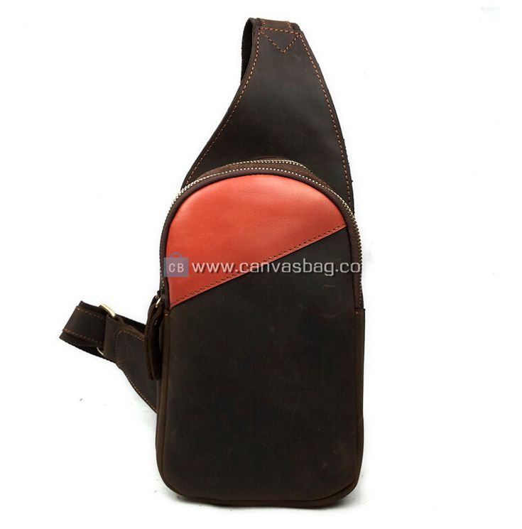 Mens Sling Bags Leather