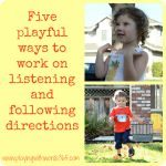 Speech on the Road: For Preverbal and Minimally Verbal Children