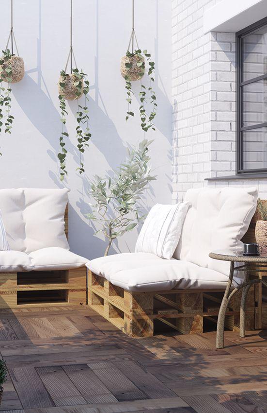 Couch Bankig selber bauen - Palettenmöbel | Paletten- & Weinkisten ...