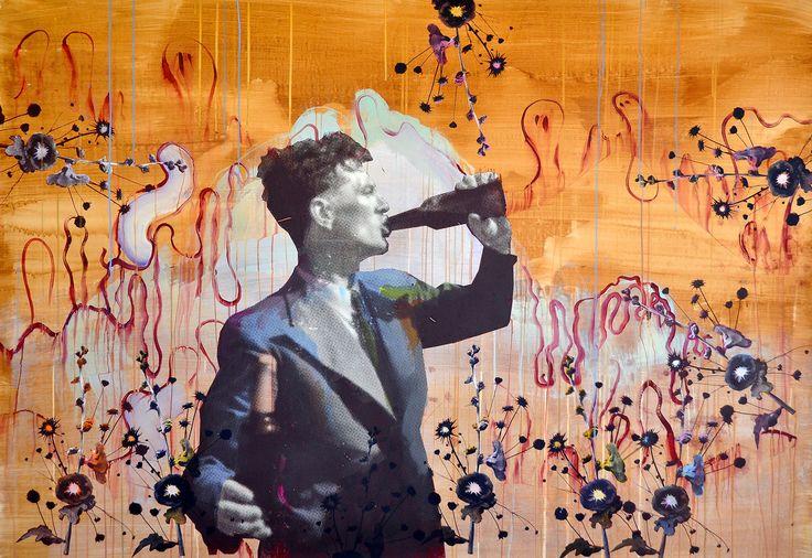Title: Embrace Life nr. 2 // Size: 140 x 200 cm