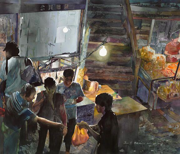 """John Salminen ~ """"Night Market"""""""