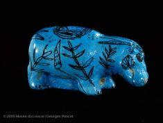 Figurine d'hippopotame | Musée du Louvre | Paris