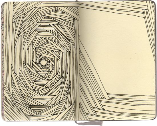 artist Stephanie Kubo from her Early Obsessions series #art #sketchbook