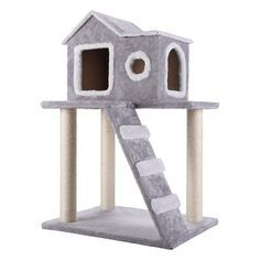 Cat Tree for Large Cats – Cat Mansion Beige – 71 inch 108 lbs 5 inch Ø poles – Total size inch – Cat Scratcher scratching post activity center Cat Trees for large cats. Quality product from C – Pet Supply Exchange Cat Tree House, Cat Tree Condo, Cat Condo, Kitty House, Sisal, Cat Mansion, Diy Cat Tower, Cat Castle, Cat In Heat