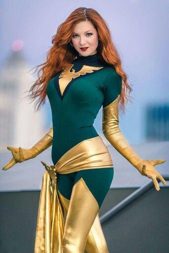 Character: Phoenix (Jean Grey) / From: MARVEL Comics 'The Uncanny X-Men' / Cosplayer: Ashlynn Dae / Photo: York In A Box