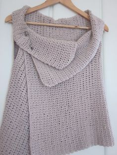 loved handmade: the vest... In this site is the original pattern for knitting