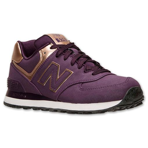 new product a8406 a9d0a new balance 574 purple gold