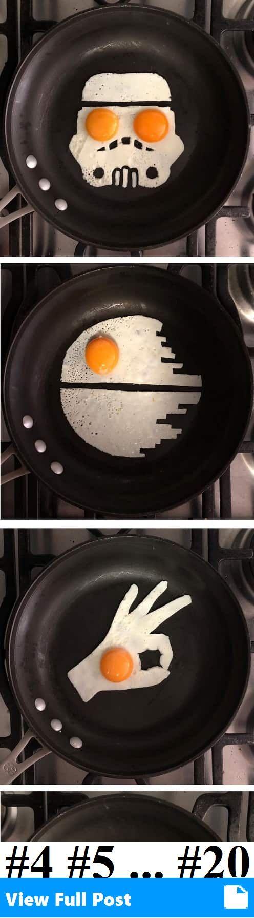 Creative Artist Turns His Breakfast Eggs Into Works Of Art