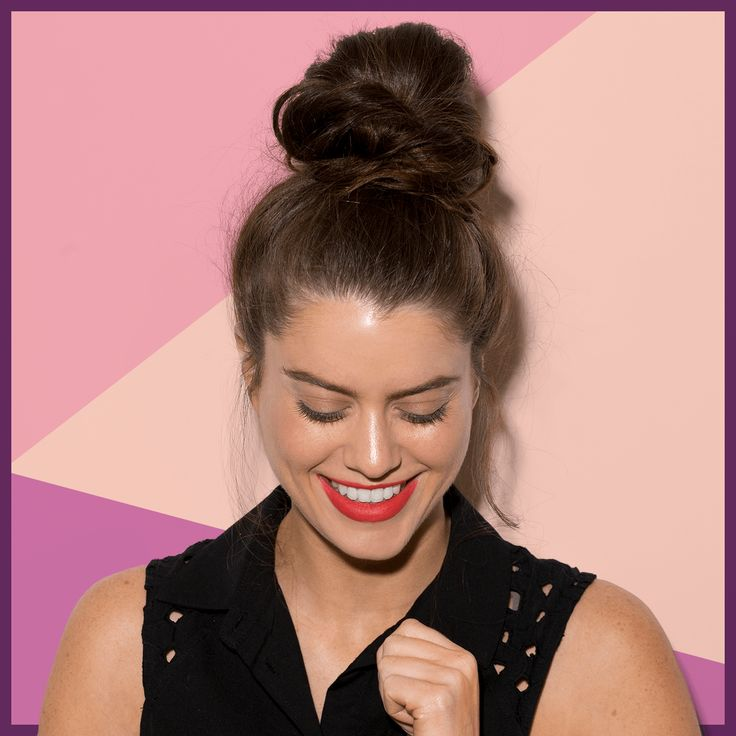 Easy Diy Bridesmaid Hairstyles: The Perfect Messy Bun In 3 Easy Steps